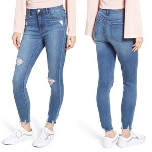 ARTICLES OF SOCIETY Heather High Waist Denim Jean